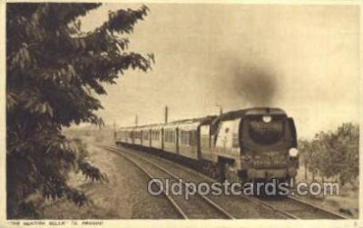 tra006697 - The Kentish Belle Train, Trains, Locomotive, Old Vintage Antique Postcard Post Card