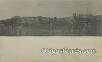 tra006699 - Cedar Falls Iowa, USA 1907 Train Wreck 14 Killed Train, Trains, Locomotive, Old Vintage Antique Postcard Post Card