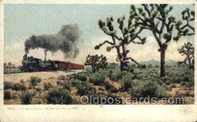 tra006706 - California Limited, CA, California, USA Train Railroad Station Depot Postcards Post Cards
