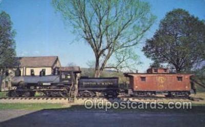 tra006715 - VT88 Train Railroad Station Depot Postcards Post Cards
