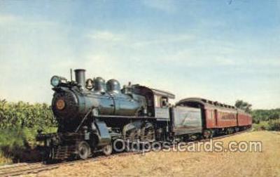 tra006725 - The Strasburg RR, Strasburg, PA, Pennsylvania, USA Train Railroad Station Depot Postcards Post Cards