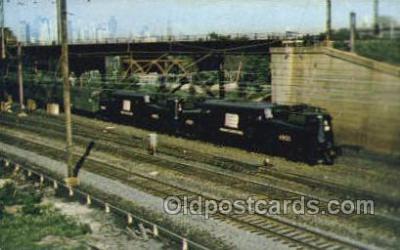 tra006734 - Train Railroad Station Depot Postcards Post Cards