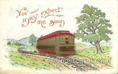 tra006756 - Train Railroad Station Depot Postcards Post Cards