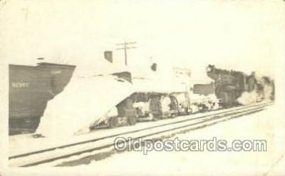 tra006757 - Ellsworth, Kansas, KS, USA Train Railroad Station Depot Postcards Post Cards