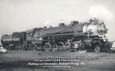 tra006772 - Southern CA, California, USA Train Railroad Station Depot Postcards Post Cards