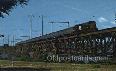 tra006800 - Penn Central 4889, New York City, NY, New York, USA Train Railroad Station Depot Postcards Post Cards
