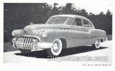 tra007010 - New Buick Special Model 43 Automotive, Autos, Cards Old Vintage Antique Postcard Post Card