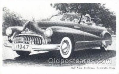 tra007017 - 1947 Buick Road master Convertible Coupe Automotive, Autos, Cards Old Vintage Antique Postcard Post Card