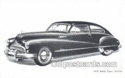 tra007018 - 1948 Buick Super Sedanet Automotive, Autos, Cards Old Vintage Antique Postcard Post Card