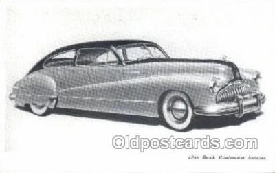tra007019 - 1946 Buick Road master Sedanet Automotive, Autos, Cards Old Vintage Antique Postcard Post Card