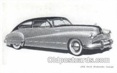 tra007020 - 1946 Buick Road master Sedanet Automotive, Autos, Cards Old Vintage Antique Postcard Post Card