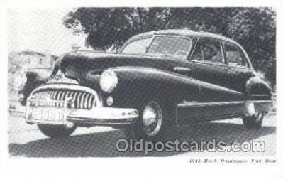 tra007023 - 1948 Buick Road master Four Door Automotive, Autos, Cards Old Vintage Antique Postcard Post Card