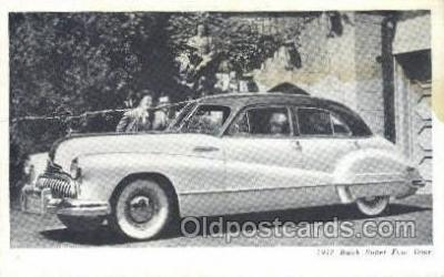 tra007026 - 1947 Buick Super Four Door Automotive, Autos, Cards Old Vintage Antique Postcard Post Card