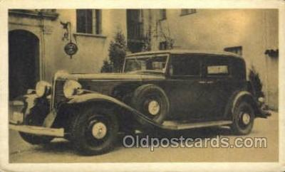 tra007032 - 1932 Marmon Club Sedan 16 cyl. Non Postcard Backing, Automotive, Autos, Cards Old Vintage Antique Postcard Post Card