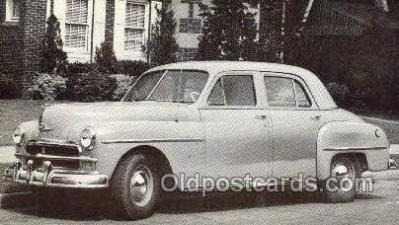 1950 Plymouth Deluxe 4 Door Sedan