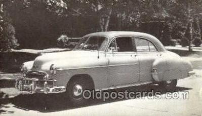 tra007048 - 1949 Chevrolet Style line 4 Door Sedan Automotive, Autos, Cards Old Vintage Antique Postcard Post Card