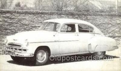 tra007049 - 1949 Chevrolet Fleet line 4 Door Sedan Automotive, Autos, Cards Old Vintage Antique Postcard Post Card