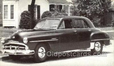 tra007052 - 1951 Plymouth Cambridge 4 Door Sedan Automotive, Autos, Cards Old Vintage Antique Postcard Post Card