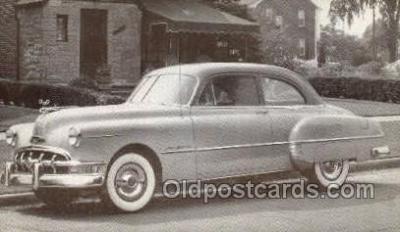 tra007057 - 1050 Pontiac Chieftain Deluxe Automotive, Autos, Cards Old Vintage Antique Postcard Post Card