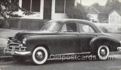 tra007062 - 1950 Chevrolet Style line Special 4 Door Sedan Automotive, Autos, Cards Old Vintage Antique Postcard Post Card