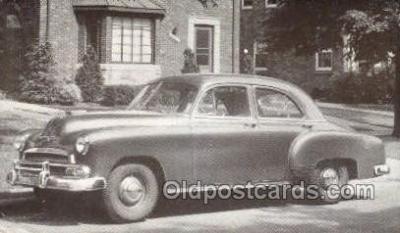tra007064 - 1951 Chevrolet Style line Special 4 Door Sedan Automotive, Autos, Cards Old Vintage Antique Postcard Post Card