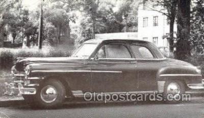 tra007081 - 1949 Chrysler Windsor Club Coupe Automotive, Autos, Cards Old Vintage Antique Postcard Post Card