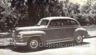 tra007085 - 1947 Plymouth 4 Door Sedan Automotive, Autos, Cards Old Vintage Antique Postcard Post Card