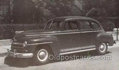 tra007088 - 1948 Plymouth 4 Door Sedan Automotive, Autos, Cards Old Vintage Antique Postcard Post Card