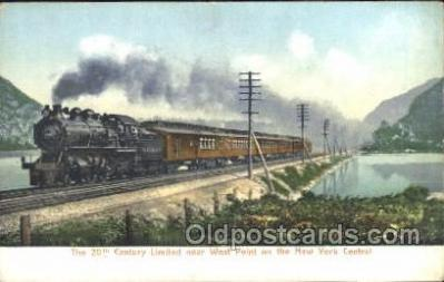 trn001023 - The 20th Century Limited, NY, USA Train Trains, Postcard Postcards