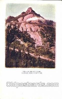 trn001027 - The Devil's Slide, Cripple Creek, CO, USA Train Trains, Postcard Postcards