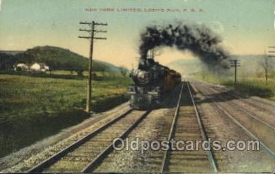 trn001031 - New York Limited, USA P.R.R. Train Trains, Postcard Postcards