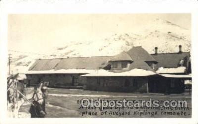 trn001039 - Rio Grande, CO, USA Train Trains, Postcard Postcards