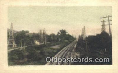 trn001069 - On The Pennsylvania Lines Trains, Railroads Postcard Post Card Old Vintage Antique