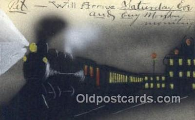 trn001100 - Trains, Railroads Postcard Post Card Old Vintage Antique