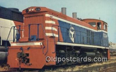 trn001104 - Belt Railway Of Chicago 534 Trains, Railroads Postcard Post Card Old Vintage Antique