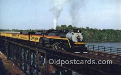 trn001105 - Steam Chessie Special Trains, Railroads Postcard Post Card Old Vintage Antique