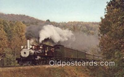 trn001106 - Clinchfield 1, Logansport, Indiana, IN USA Trains, Railroads Postcard Post Card Old Vintage Antique