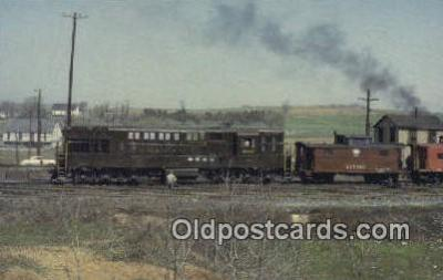 trn001115 - Reading 800, Harrisburg, Pennsylvania, PA USA Trains, Railroads Postcard Post Card Old Vintage Antique