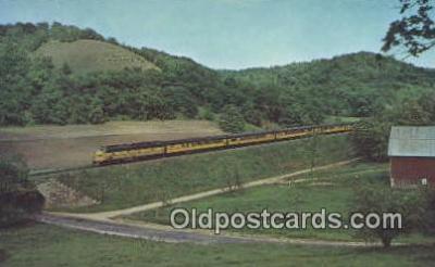 trn001119 - The Dakota 400, Chicago, Illinois, IL USA Trains, Railroads Postcard Post Card Old Vintage Antique