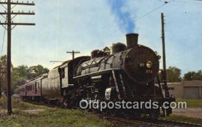 trn001122 - Ohio Railway Museum, Worthington, Ohio, OH USA Trains, Railroads Postcard Post Card Old Vintage Antique