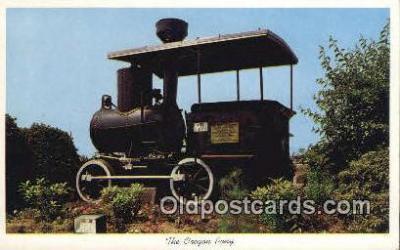 trn001141 - The Oregon Pony, Portland, Oregon, OR USA Trains, Railroads Postcard Post Card Old Vintage Antique