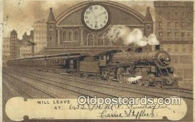 trn001150 - Trains, Railroads Postcard Post Card Old Vintage Antique