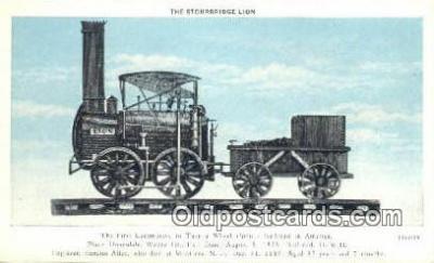 trn001152 - The Strourbridge Lion Trains, Railroads Postcard Post Card Old Vintage Antique