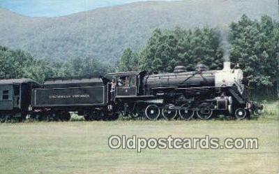 trn001226 - Southwest Virginia Railroad, Mendota, Virginia, VA, USA Trains, Railroads Postcard Post Card Old Vintage Antique