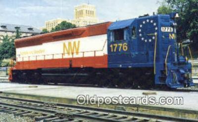 trn001227 - Norfolk And Western Railways Company Trains, Railroads Postcard Post Card Old Vintage Antique