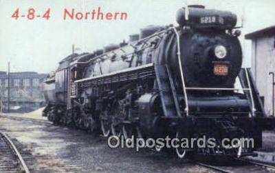 trn001231 - 4-8-4 Northern, Canada Trains, Railroads Postcard Post Card Old Vintage Antique
