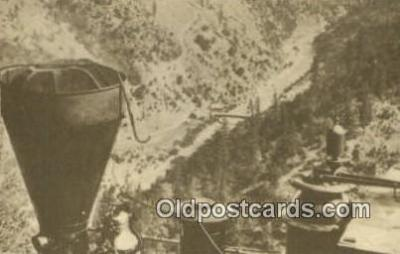 trn001268 - Repro Image Cape Horn Trains, Railroads Postcard Post Card Old Vintage Antique