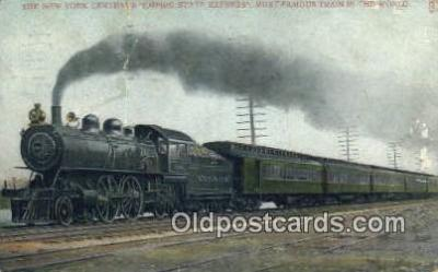 trn001275 - New York Centrals Empire, State Express, New York, NY USA Trains, Railroads Postcard Post Card Old Vintage Antique