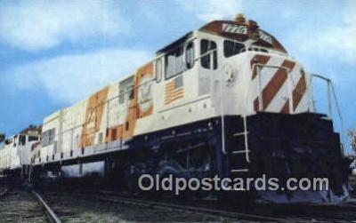 trn001280 - Burlington Northerns Cunit Number 1776 Trains, Railroads Postcard Post Card Old Vintage Antique