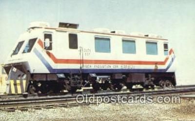 trn001281 - Dot Test Track Dotx 101, Pueblo, Colorado, CO USA Trains, Railroads Postcard Post Card Old Vintage Antique